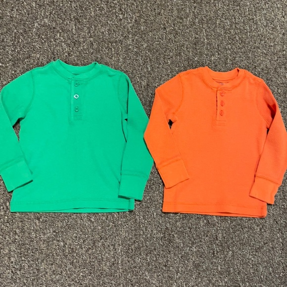 2-pack Primary.com thermal henleys size 3